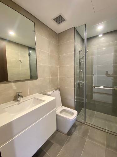 Phòng tắm căn hộ One Verandah, Quận 2 Căn hộ One Verandah tầng cao thoáng mát, đầy đủ nội thất.