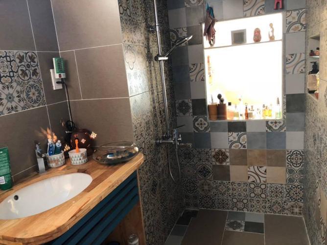 Toilet căn hộ VISTA VERDE Căn hộ Vista Verde tầng 09 nội thất đầy đủ