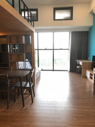 Phòng khách officetel THE SUN AVENUE Bán căn hộ The Sun Avenue 1PN, tầng 3, đầy đủ nội thất