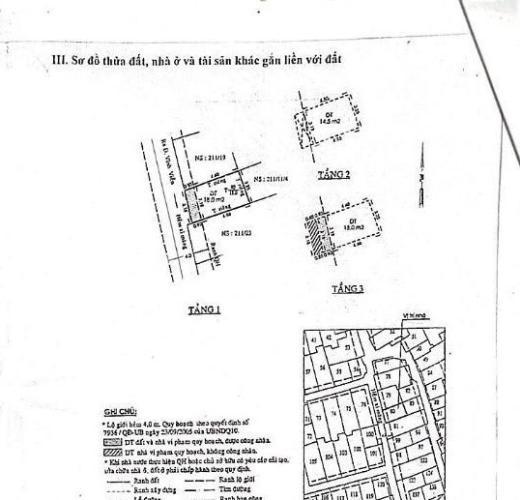 Bản vẽ nhà phố Nhà phố hướng cửa Tây Nam hẻm xe máy, diện tích đất 18m2.