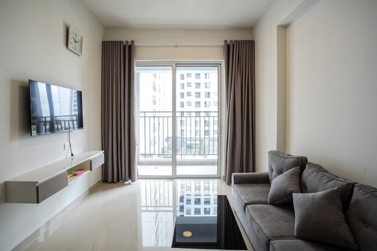Phòng Khách Cho thuê căn hộ Sunrise Riverside 2PN, tầng thấp, đầy đủ nội thất, view hồ bơi