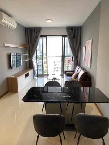 Phòng ăn One Verandah Quận 2 Căn hộ One Verahdah view thành phố, nội thất tiện nghi.