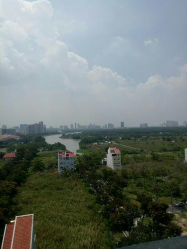 View Căn hộ Saigon South Residence tầng trung, đầy đủ nội thất