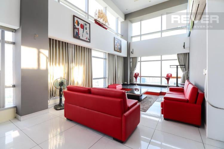 71682d8d5d33bb6de222 Bán hoặc cho thuê penthouse Petroland Tower 3PN, diện tích 350m2, nội thất cơ bản, view thành phố