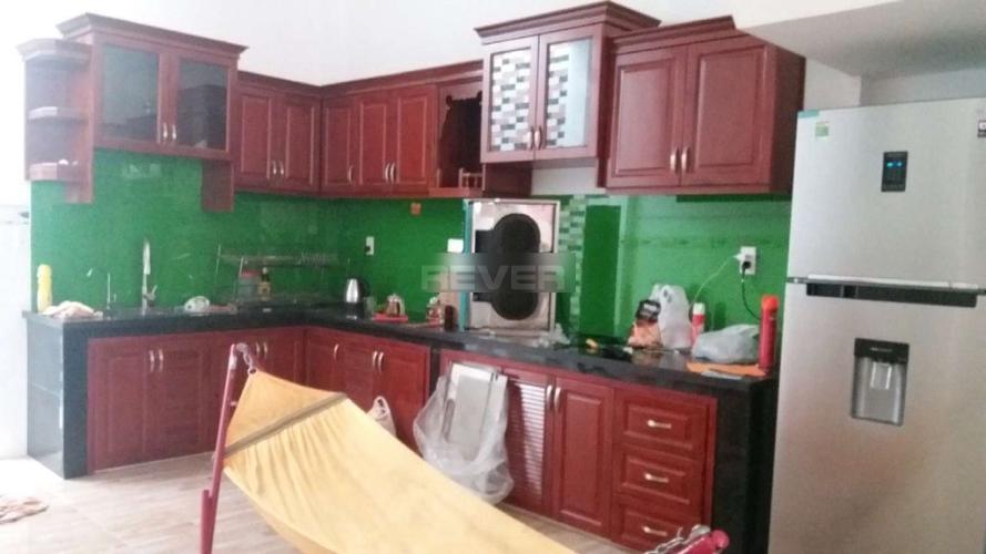 Phòng bếp nhà phố Nhà phố cửa chính hướng Tây kết cấu 4 tầng, đường xe tải rộng.