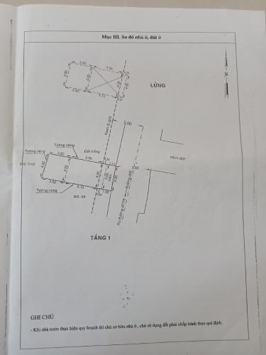 Bản vẽ nhà phố đường số 1, Bình Tân Nhà 1 trệt 1 lầu 1 lửng hướng Đông, hẻm đường nhựa rộng rãi.
