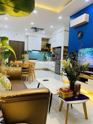 Phòng khách căn hộ Jamila Khang Điền, Quận 9 Căn hộ tầng 22 Jamila Khang Điền ban công thoáng mát, đầy đủ nội thất.