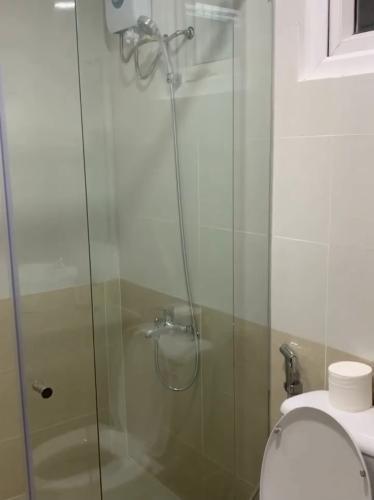 phòng tắm căn hộ diamond riverside Căn hộ tầng cao Diamond Riverside view sông.
