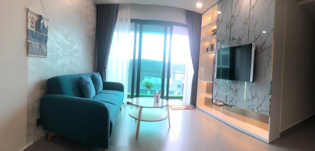 Phòng khách Feliz En Vista Căn hộ Feliz En Vista tầng cao, bàn giao đầy đủ nội thất,