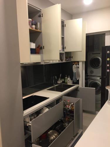 Phòng bếp , Căn hộ CitiHome , Quận 2 Căn hộ chung cư CitiHome nội thất đầy đủ, view thành phố thoáng mát.