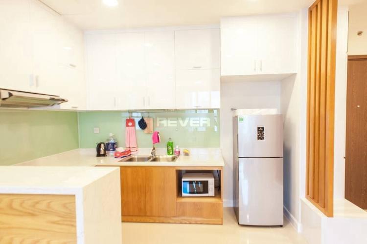 Phòng bếp căn hộ Icon 56 Căn hộ Icon 56 tầng cao đẩy đủ nội thất tiện nghi, view cực thoáng.