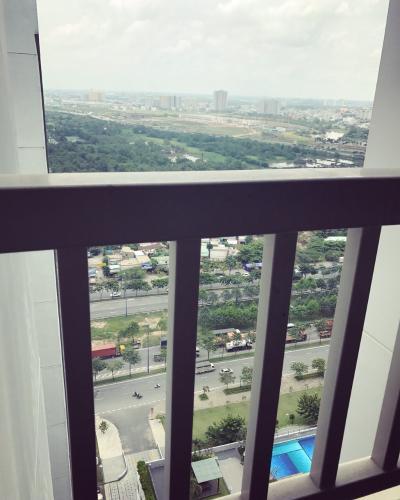 View căn hộ Lexington Residence, Quận 2 Căn hộ tầng cao Lexington Residence 2 phòng ngủ, đầy đủ nội thất.