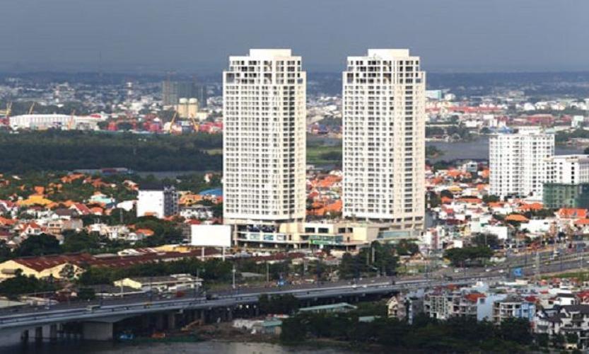 thảo điền pearl Căn hộ Thảo Điền Pearl tầng cao, đón view thành phố sầm uất