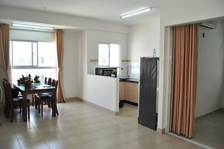 Căn hộ Ehome 3 tầng 8 view thoáng mát, đầy đủ nội thất.