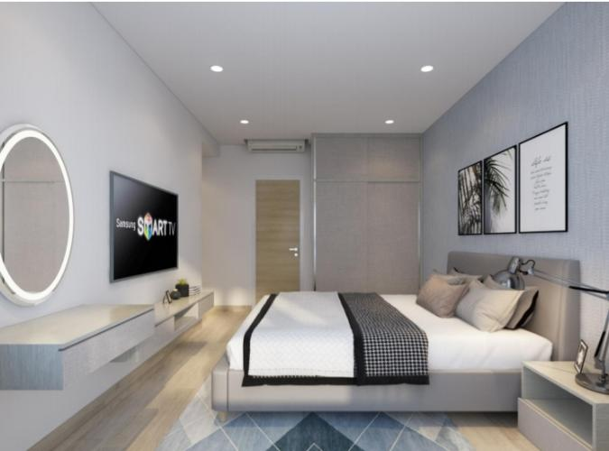 Phòng ngủ căn hộ Riviera Point Căn hộ tầng 12 Riviera Point sàn gỗ, view thành phố thành phố sầm uất.