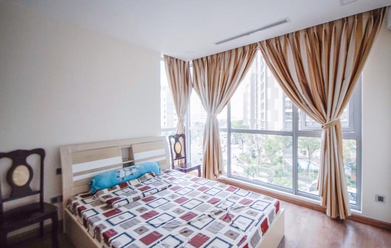 Phòng ngủ , Căn hộ Vinhomes Central Park , Quận Bình Thạnh Căn hộ Vinhomes Central Park tầng 2 view nội khu yên tĩnh, đầy đủ nội thất.