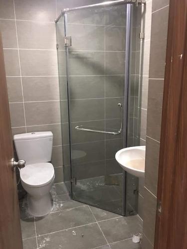 Phòng tắm City Gate Quận 8 Căn hộ tầng cao City Gate nội thất cơ bản, view thoáng mát.