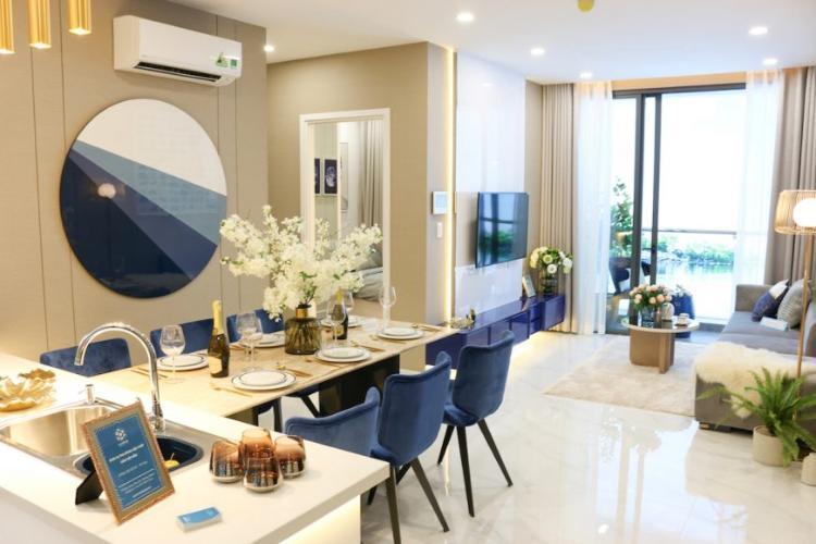 Phòng bếp căn hộ Precia, Quận 2 Căn hộ tầng cao Precia view thoáng mát, nội thất cơ bản.