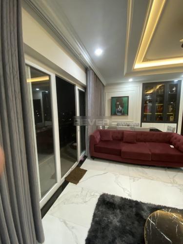 Phòng khách Xi Grand Court, Quận 10 Căn hộ Xi Grand Court tầng trung, nội thất đầy đủ.