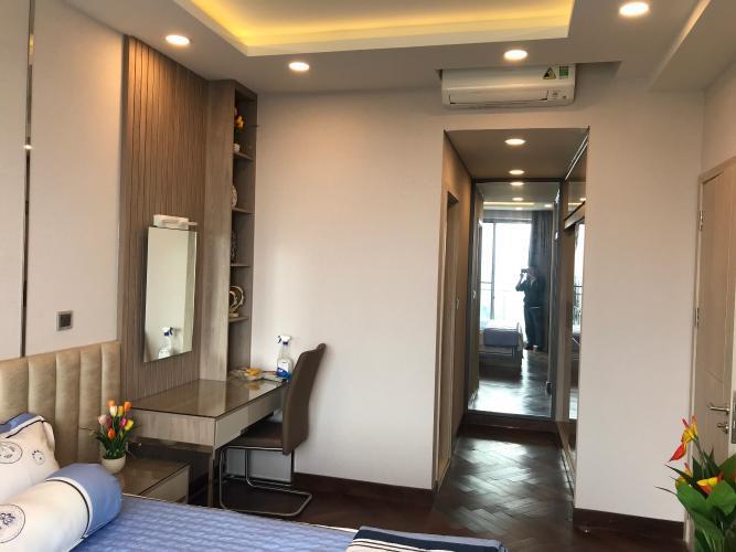 Phòng ngủ căn hộ Phú Mỹ Hưng Midtown Căn hộ tầng cao Phú Mỹ Hưng Midtown, nội thất cao cấp đầy đủ.