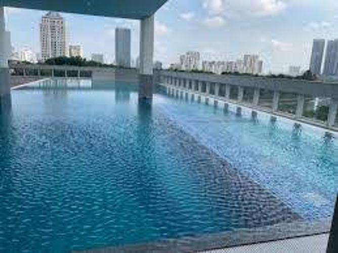 Hồ bơi căn hộ Midtown Căn hộ Phú Mỹ Hưng Midtown nội thất cơ bản, view sông thoáng đãng.