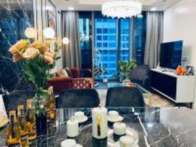 Căn hộ Vinhomes Central Park tầng cao nội thất đầy đủ