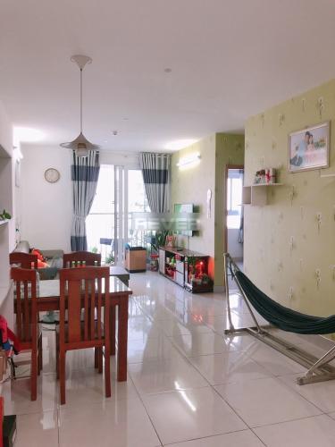 Căn hộ Tara Residence tầng trung, ban công view nội khu.