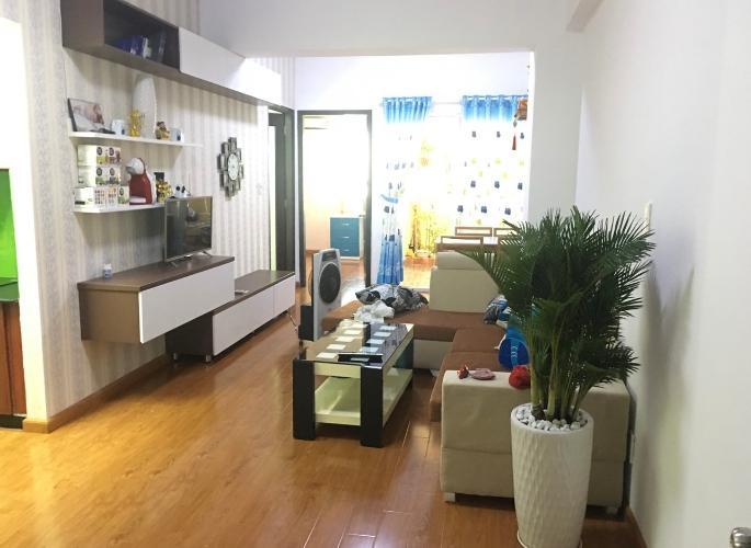 Căn hộ chung cư Khang Gia đầy đủ nội thất, hướng Tây.