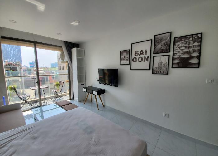 Căn Officetel tầng 3 Masteri Millennium diện tích 30m2, đầy đủ nội thất.