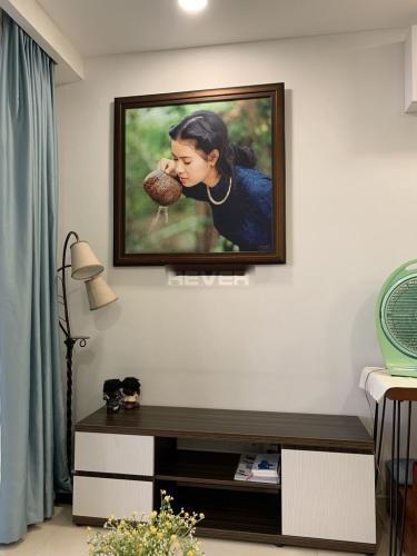 Phòng khách căn hộ The Pegasuite 1 , Quận 8 Căn hộ The pegasuite 1 cửa hướng Đông Nam, đầy đủ nội thất.