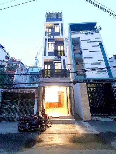 Mặt tiền nhà phố Quận Bình Thạnh Nhà phố mặt tiền đường Võ Duy Ninh cách Vinhomes 100m, không có nội thất.