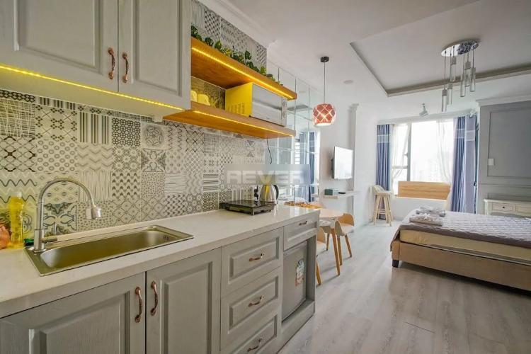 Phòng bếp River Gate, Quận 4 Căn hộ Officetel RiverGate Residence tầng trung, hướng Tây Bắc.