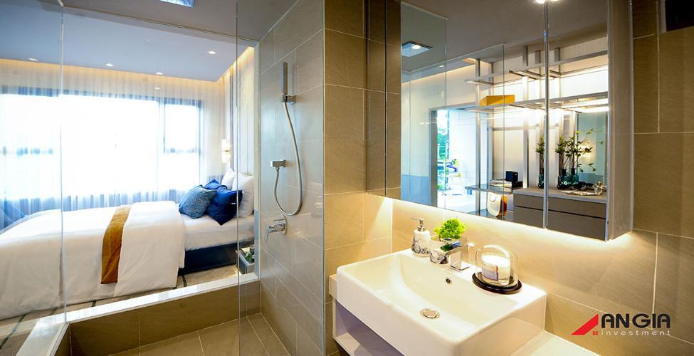 phòng ngủ + tolet căn hộ Sky89 Căn hộ Sky 89 An Gia tầng 29 ban công hướng Đông thoáng gió