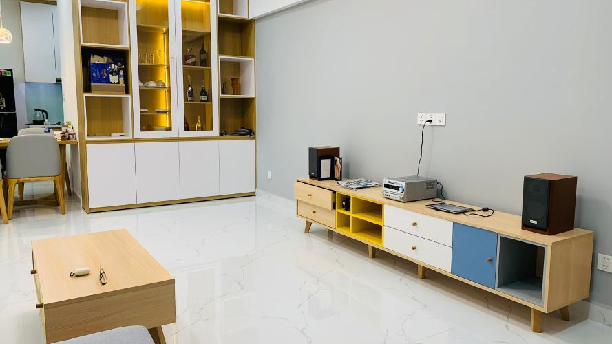phòng khách căn hộ Phú Mỹ Hưng Midtown Căn hộ Phú Mỹ Hưng Midtown tầng trung đầy đủ nội thất sang trọng.