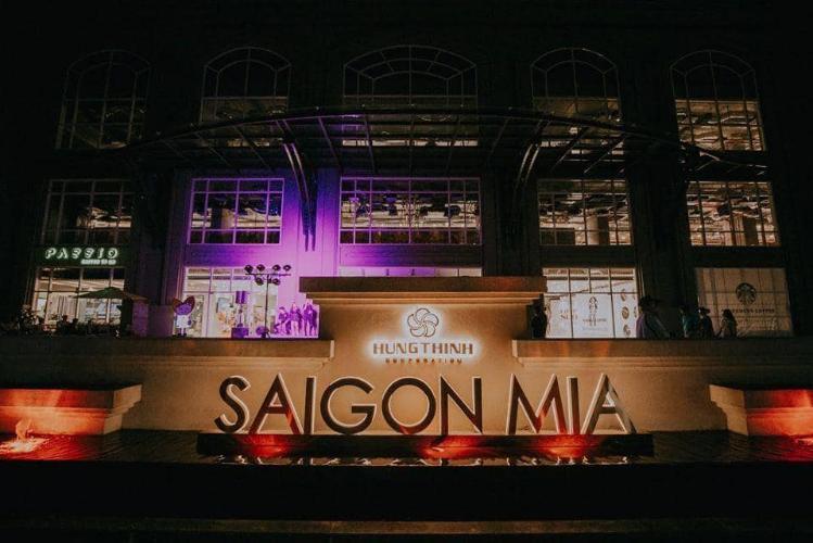 building sài gòn mia Căn hộ tầng cao Saigon Mia, thiết kế tinh tế, nhiều cửa đón sáng.