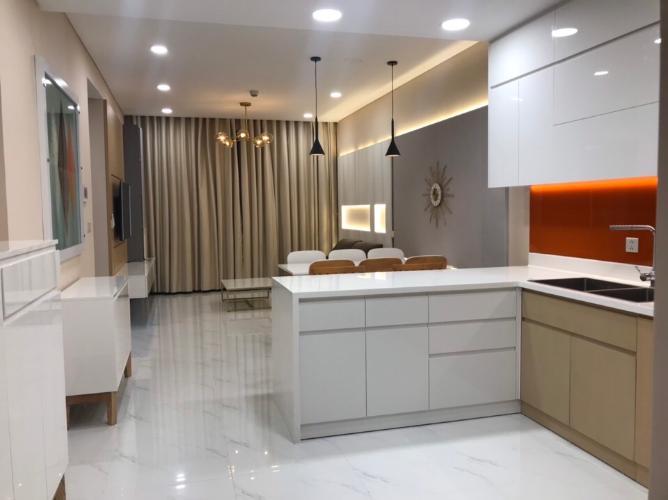 Phòng bếp căn hộ Sunwah Pearl Căn hộ tầng 22 Sunwah Pearl đầy đủ tiện nghi cao cấp, hướng Tây Nam.