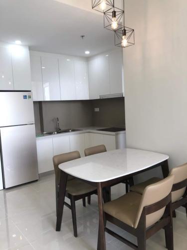 bếp căn hộ Masteri An Phú Căn hộ Masteri An Phú tầng cao đầy đủ nội thất, view thành phố.