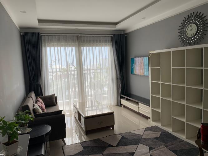 Phòng khách căn hộ The Sun Avenue Căn hộ tầng cao The Sun Avenue nội thất đầy đủ, ban công thoáng.