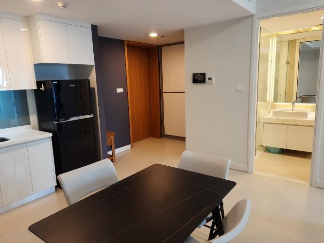 Phòng khách căn hộ Gateway Thảo Điền Căn hộ Gateway Thảo Điền tầng cao nội thất đầy đủ, view thoáng mát.