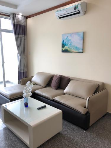 Cho thuê căn hộ Hoàng Anh Thanh Bình 3 phòng ngủ tầng cao, diện tích 116m2, nội thất cơ bản