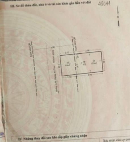 Bản vẽ nhà phố Dương Bá Trạc, Quận 8 Nhà phố hướng Đông, cách hẻm xe hơi 20m thông chợ Rạch Ông.