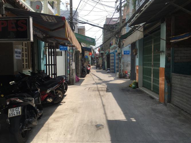 hẻm Nhà phố Huỳnh Tấn Phát Quận 7 Bán nhà phố 6m x8m nội thất cơ bản hẻm đường Huỳnh Tấn Phát