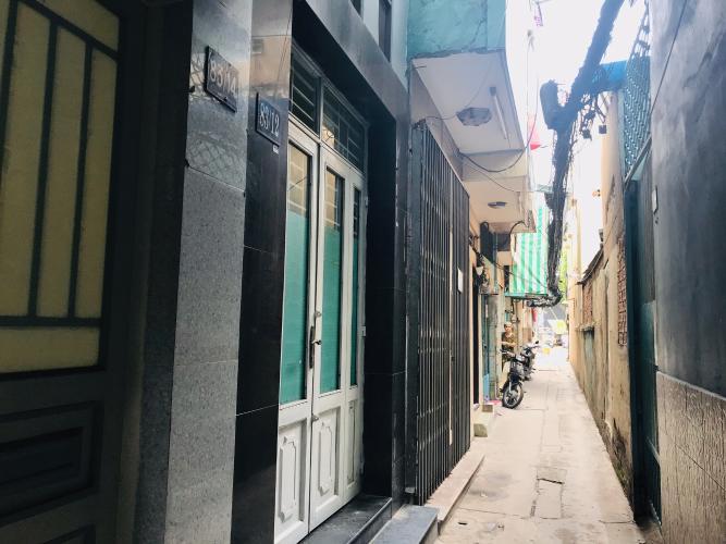 Bán nhà phố hẻm đường Hồ Hảo Hớn, phường Cô Giang, quận 1, diện tích đất 28.5m2, diện tích dử dụng 50m2