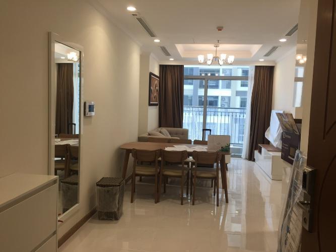 phòng khách căn hộ Vinhomes Central Park Căn hộ Vinhomes Central Park tầng 10 nội thất đầy đủ