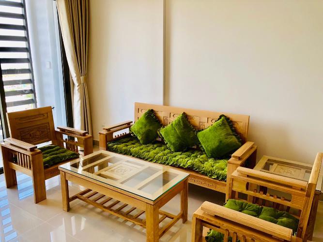 phòng khách căn hộ  1+1 phòng ngủ the sun avenue Căn hộ The Sun Avenue đón view nội khu, nội thất đầy đủ.