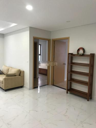 Phòng khách An Gia Riverside, Quận 7 Căn hộ An Gia Riverside đầy đủ nội thất, ban công hướng Nam.