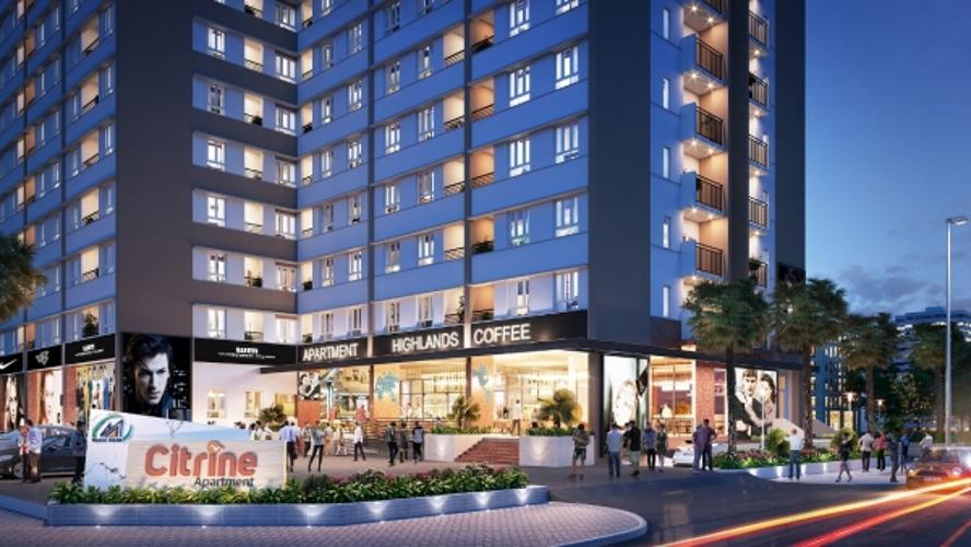Căn hộ Citrine Apartment, Quận 9 Căn hộ góc Citrine Apartment tầng 2, đầy đủ nội thất và tiện ích.