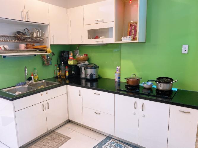 Phòng bếp nhà phố Quận Tân Phú Nhà phố hướng Bắc diện tích sử dụng 148.5m2, đầy đủ nội thất.