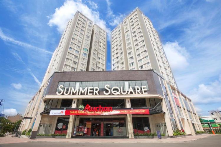 Summer Square, Quận 6 Căn hộ Summer Square view thành phố, nội thất cơ bản.