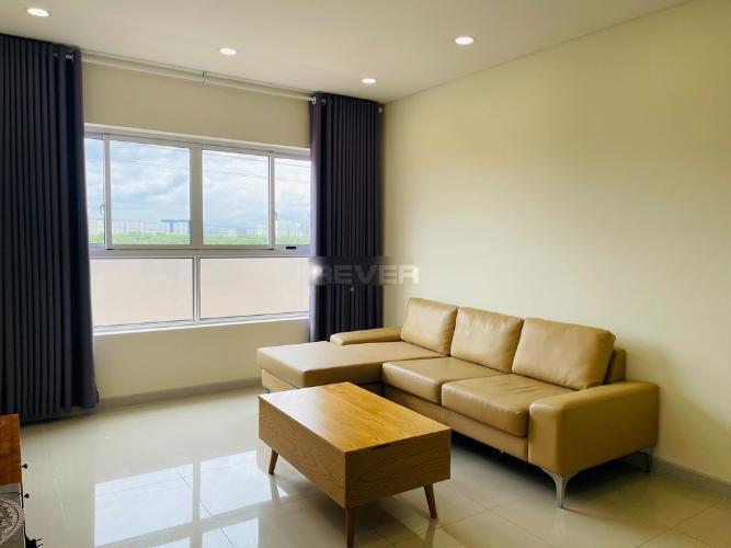 Phòng khách căn hộ Dragon Hill 2, Nhà Bè Căn hộ Dragon Hill 2 tầng 4, phòng khách đón gió và nắng tự nhiên.